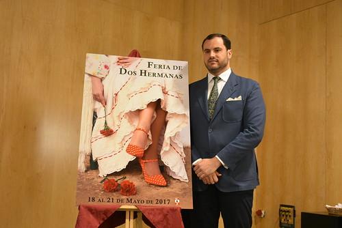Dani Vaquero, autor del cartel de Feria