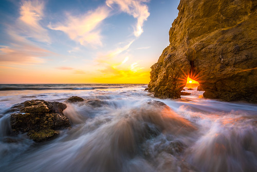 Malibu Sunset! Elliot McGucken Fine Art Landscape and Nature Photography! Epic Seascape!
