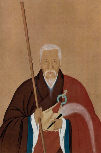 Portrait of Ingen Ryūki by Kita Genki, dated 1671. From wikipedia.org
