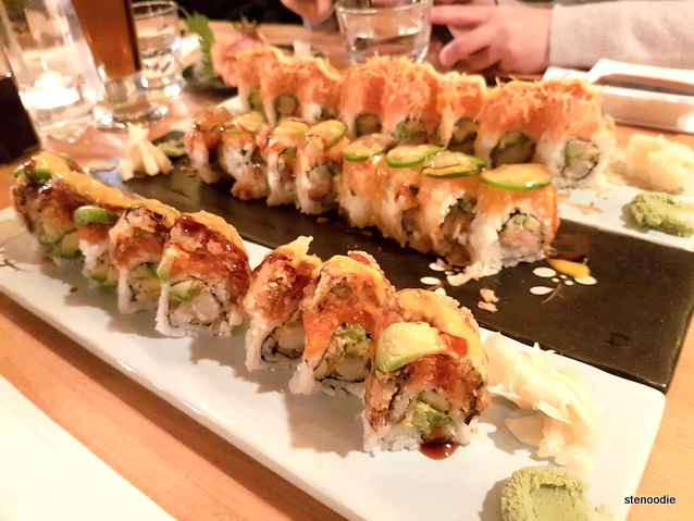 Volcano Roll, Saku Roll, Energy Roll