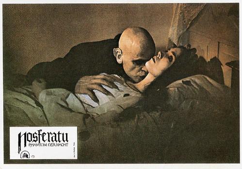 Klaus Kinski and Isabelle Adjani in Nosferatu, Phantom der Nacht (1979)