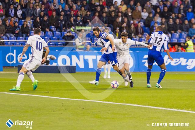 Temporada 16/17. RC Deportivo - Real Madrid
