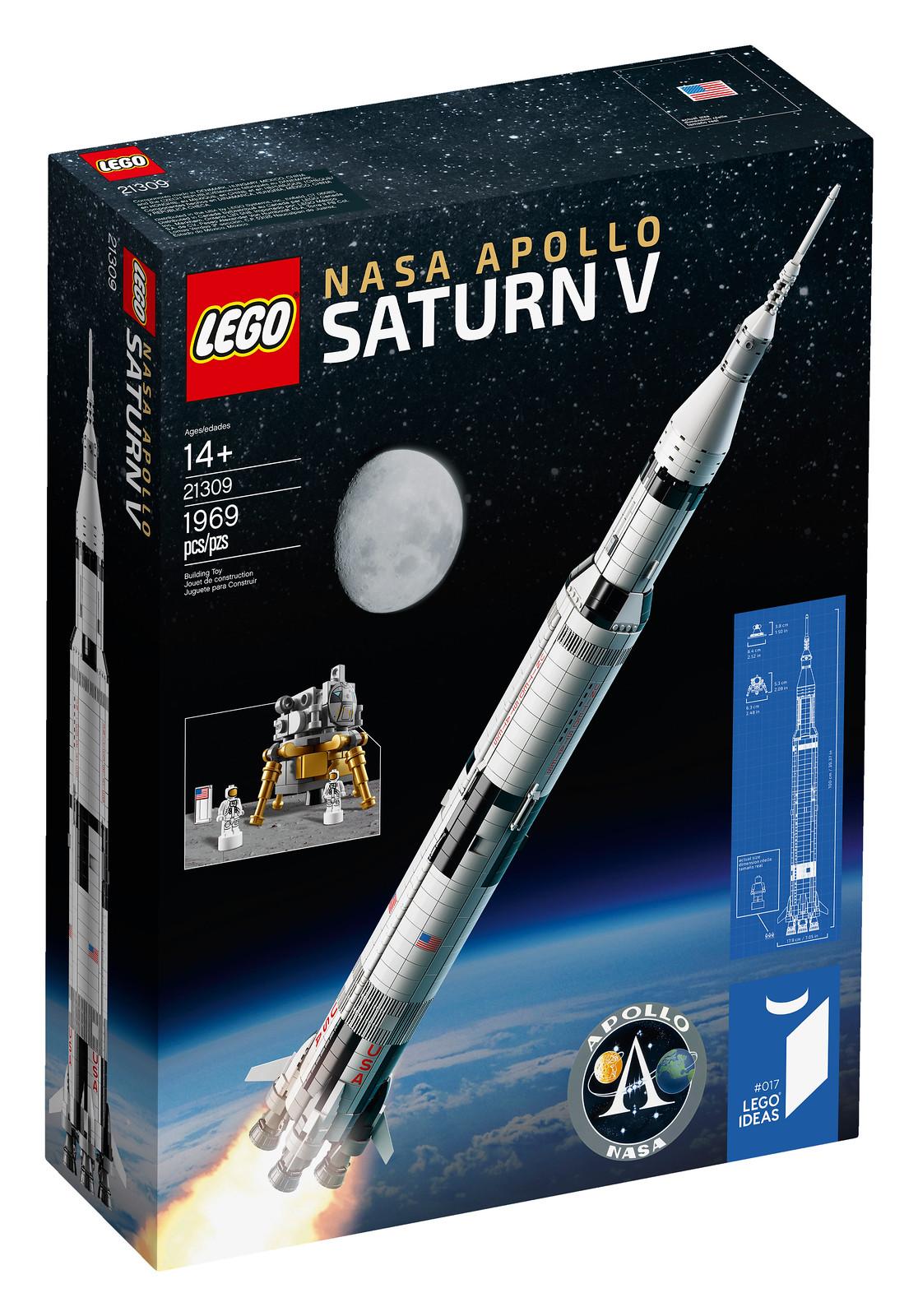 LEGO Ideas 21309 - NASA Apollo Saturn V