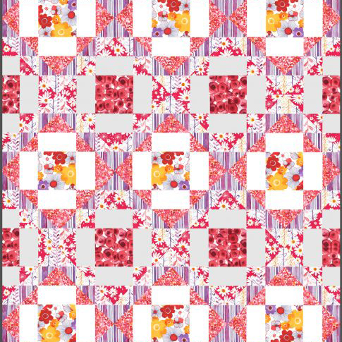 Framed Flowers Free Pattern