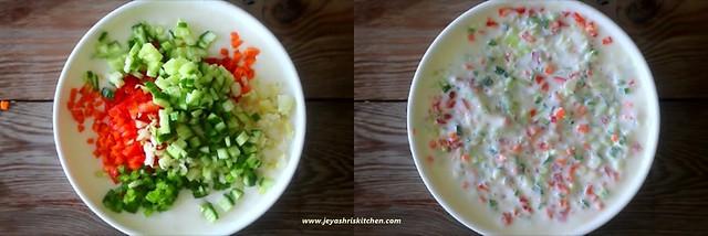 mixed veg raita 2