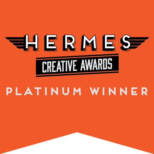 Logo, Award_Hermes Creative Awards_Platinum Winner
