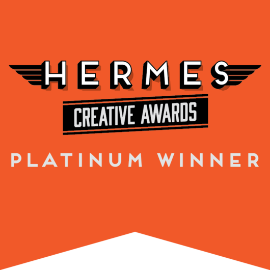 Hermes Creative Awards_Platinum Winner