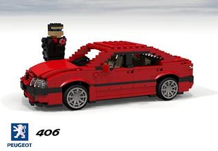Peugeot 406 Saloon
