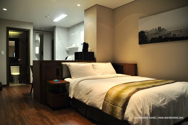 My room at Citadines Haeundae Busan