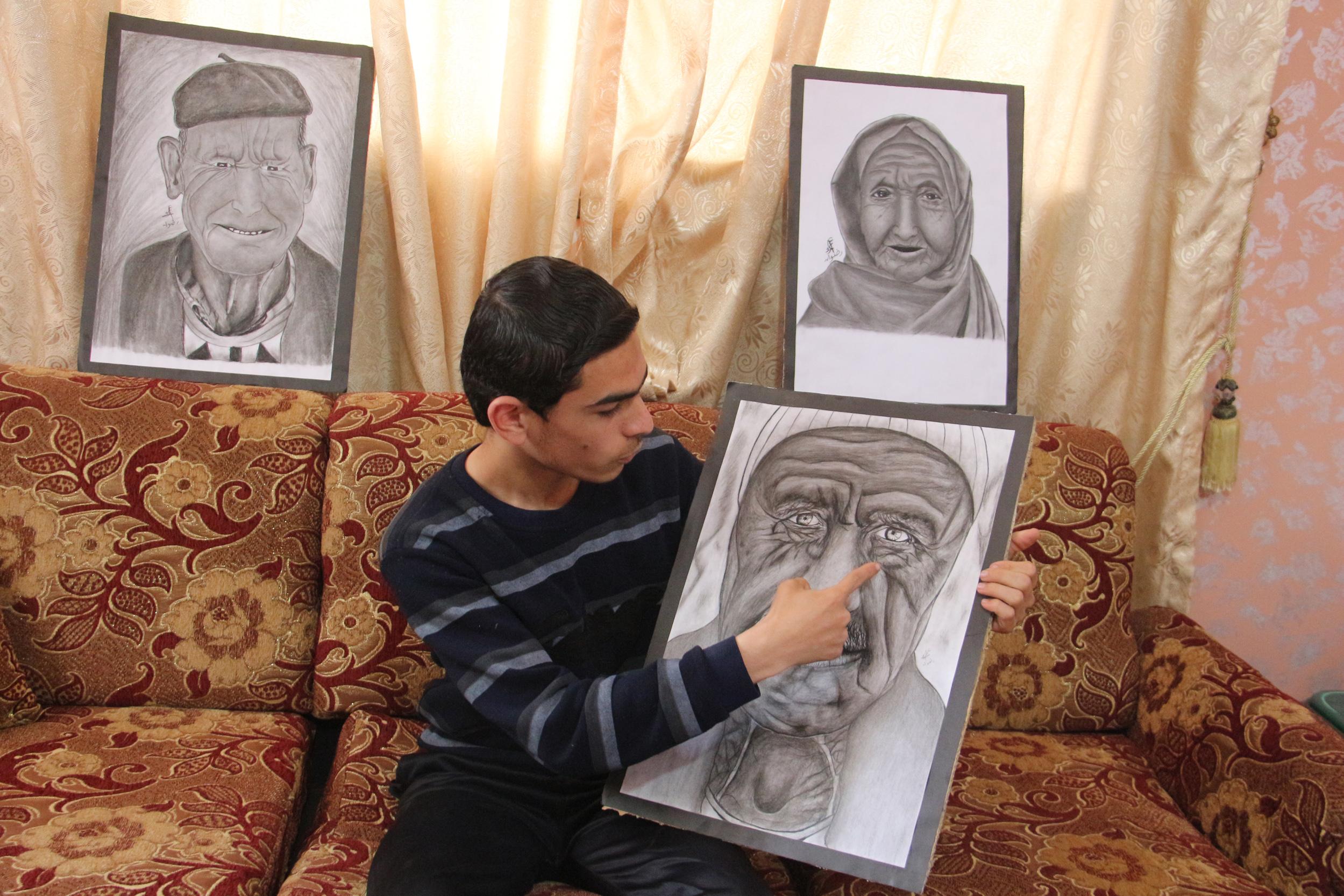 عمر رضوان غزة  (28)