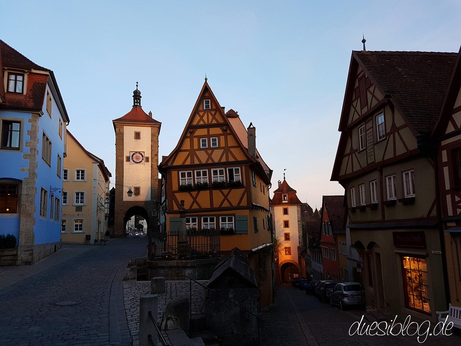 Rothenburg ob der Tauber Ploenlein duesiblog 03