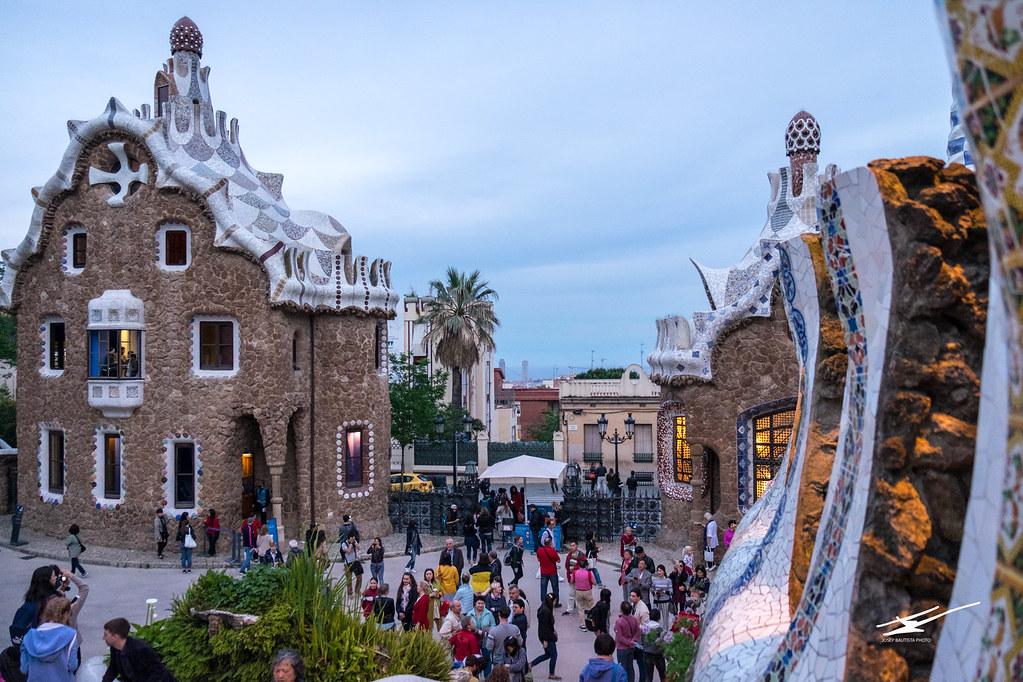 Visiting Park Güell in Barcelona