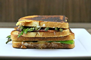 Asparagus Grilled Cheese Side | by Sweet Beginnings Blog