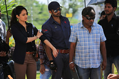 Nakshatram Movie Working Stills