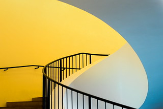 Yellow stairs | by Maerten Prins