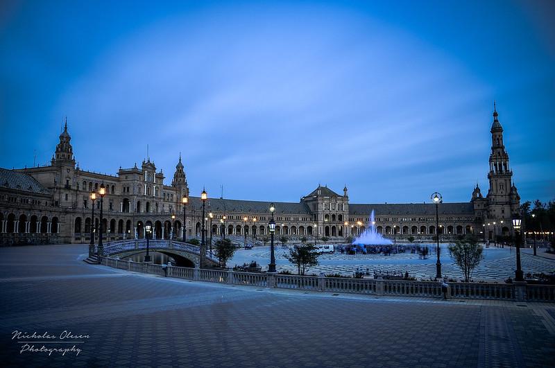 Seville | Plaza de España Blue Hour