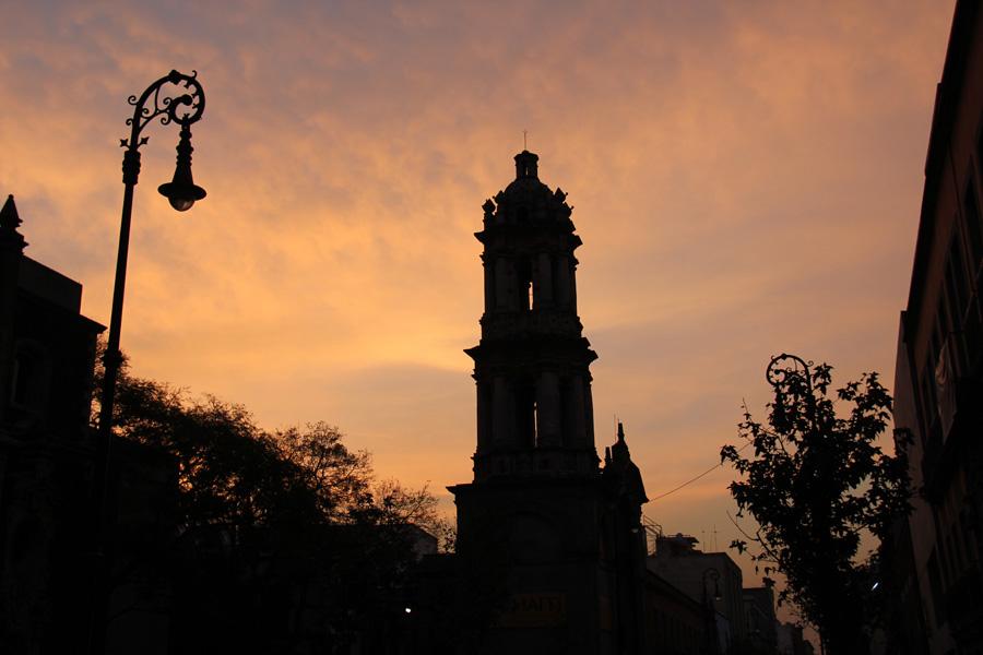 MexicoCity_auringonlasku
