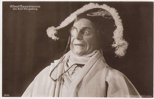 Albert Bassermann in Die beiden Klingsberg