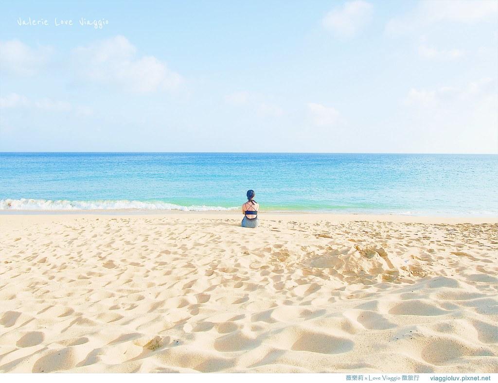 【澎湖 Penghu】山水沙灘 馬公南環的美麗沙灘 享受陽光下的碧藍夢幻白沙灘 @薇樂莉 Love Viaggio | 旅行.生活.攝影