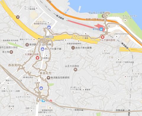 京急逸見〜横須賀