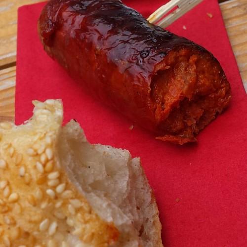 Chorizo vom Grill
