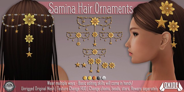 OXIDE Samina Hair Ornaments Set