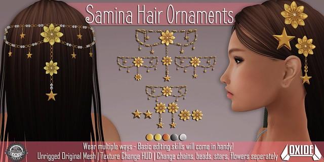 OXIDE Samina Hair Ornaments Set