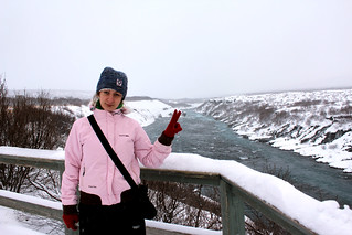It's me at Barnafoss Waterfall | by saraflossy