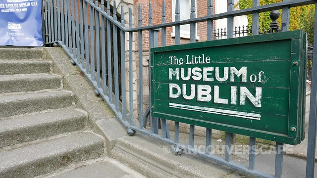 Dublin 2017/The Little Museum of Dublin