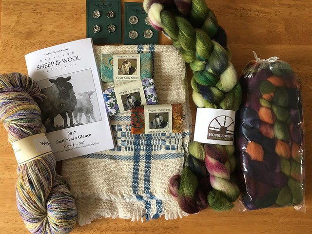 Maryland Sheep and Wool haul.