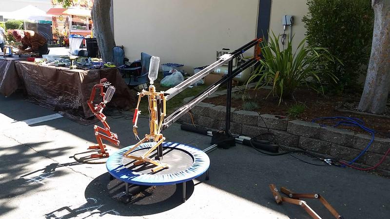 Trampoline Jumping Robot