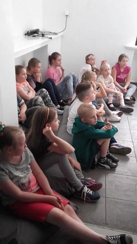 """Klub Dzieci Ciekawych Wszystkiego na warsztatach - """"Cień"""""""