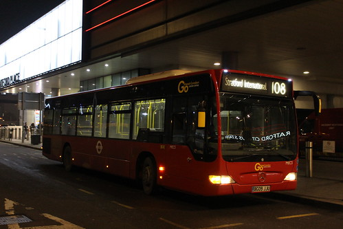 London Central MEC3 on Route 108, Stratford City
