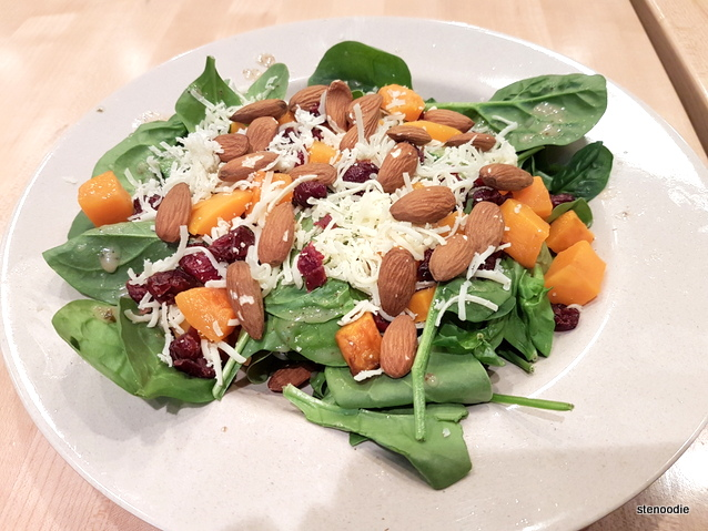 Roasted Butternut Seasonal Salad