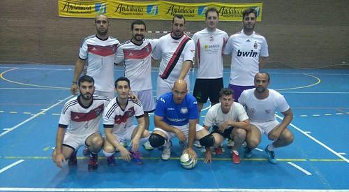 AionSur 34824535865_801c79a88f_d Fuente de la Salud, con un doblete, y La Peña, campeones de la Liga Local de Fútbol Sala Deportes Fútbol Sala