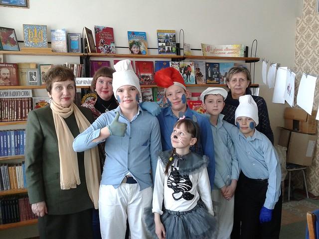 Зустріч юних казкарів з Вірою Марущак