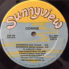 CONNIE:EXPERIENCE(LABEL SIDE-B)