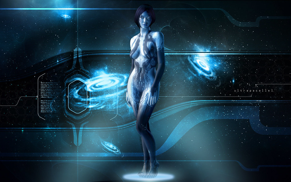 Halo 4 Game Cortana Wallpaper HD By Sweshadow90
