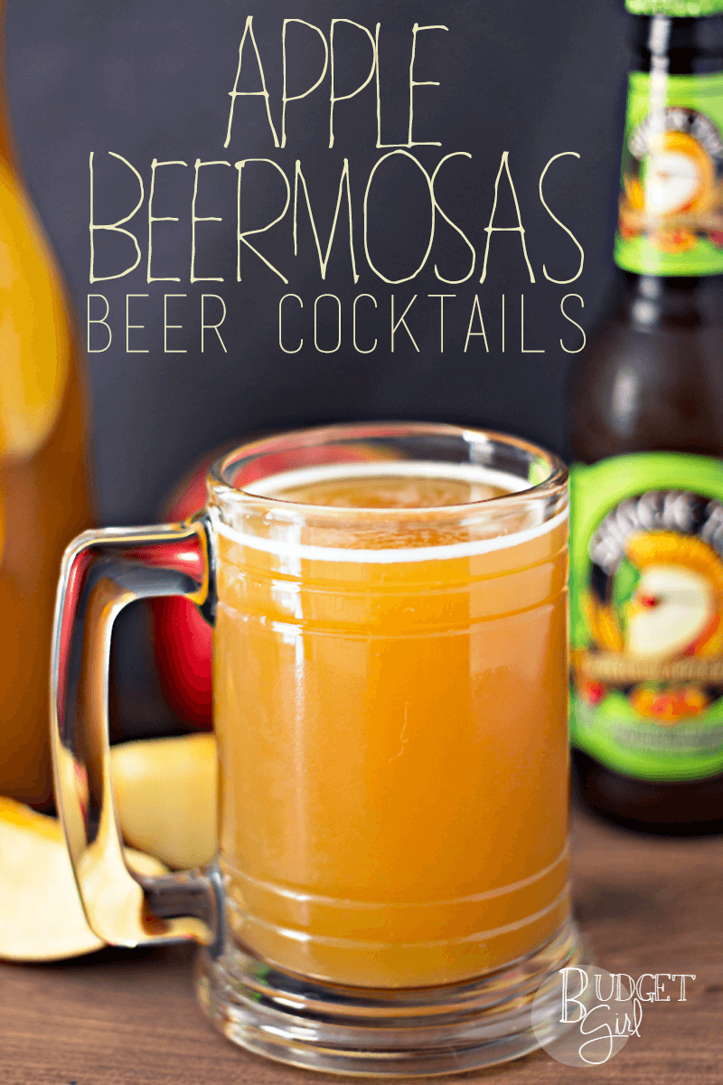 Apple Beermosa Beer Cocktail