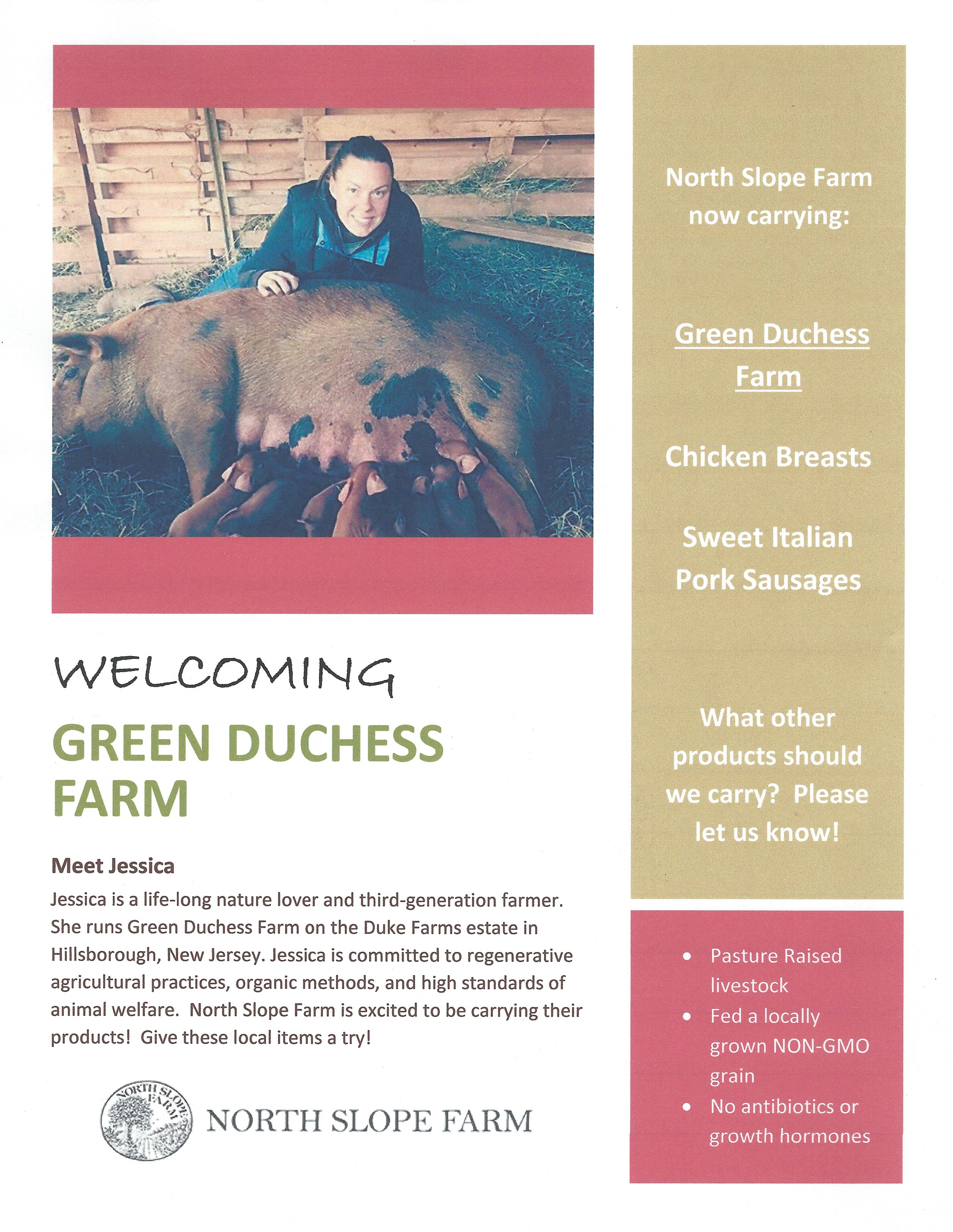 Green Duchess Farm