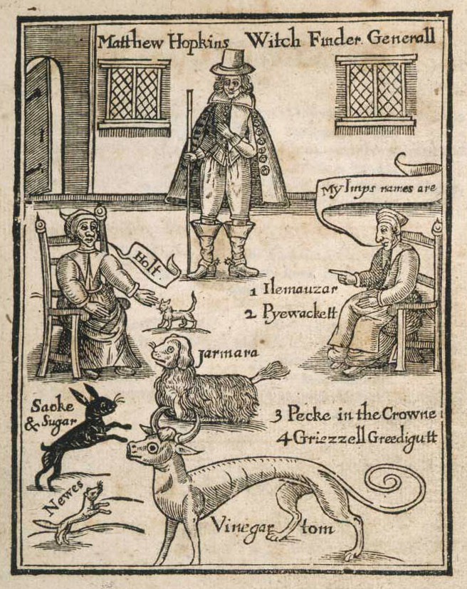 matthew hopkins witch