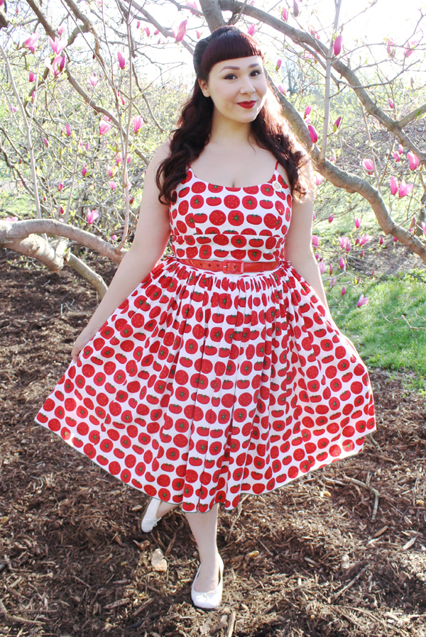 tomato dress chelsea bernie dexter