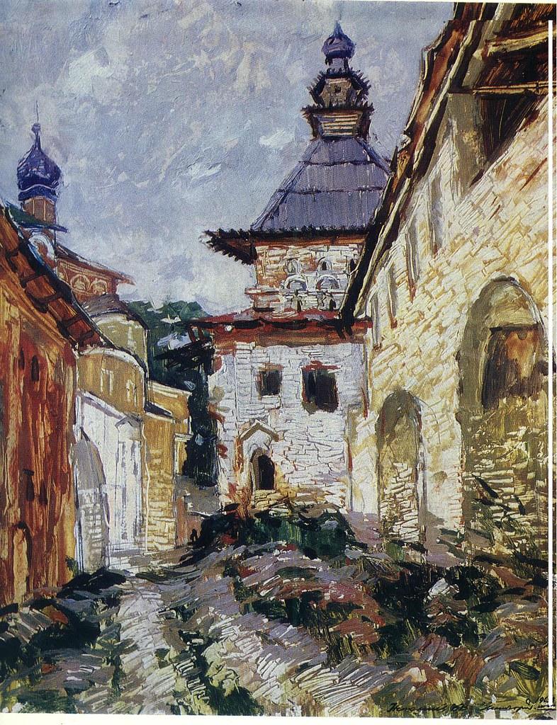 维克多·阿斯塔利采夫画作选31