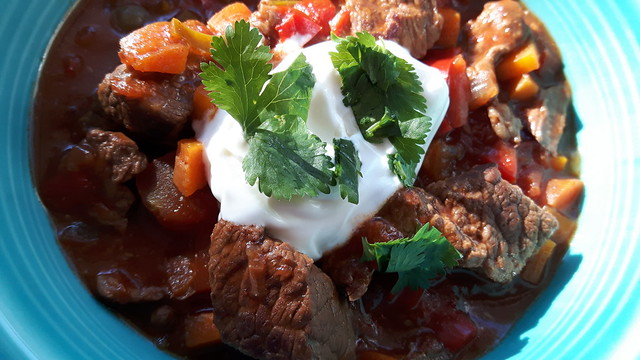 Slow Cooker Texas Beef Chili 13