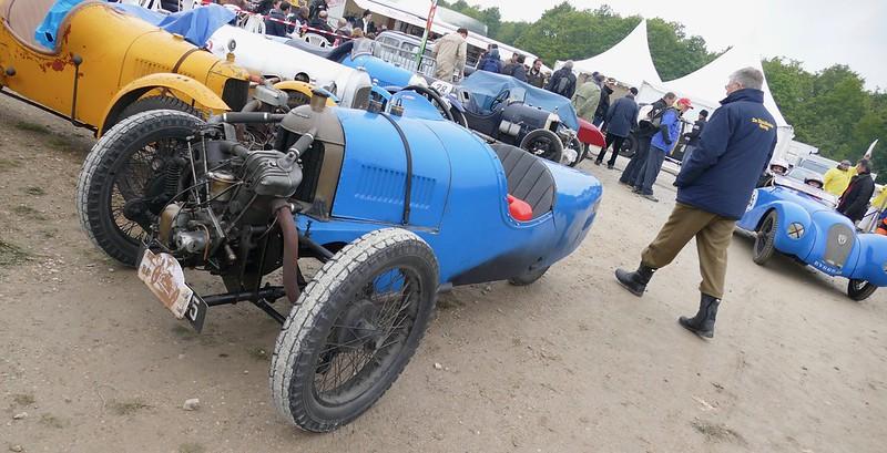 Darmont Special bleu jantes noires - Vintage Revival Linas Montlhery 2017 33743029713_dd92f8f46c_c