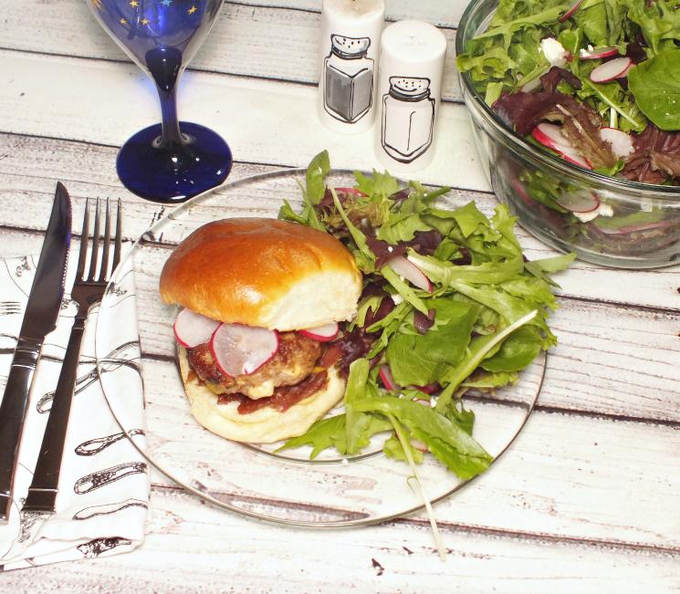 hello fresh minted lamb burger (2)