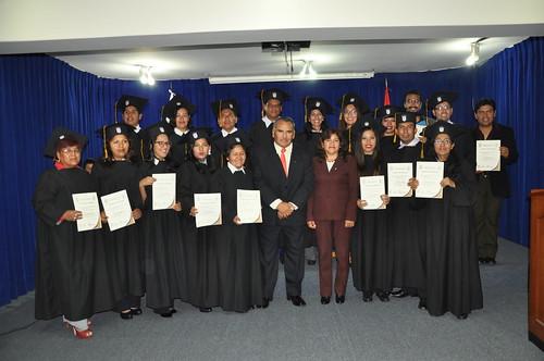 Ceremonia de Egresados de la Maestria en Docencia Universitaria y Gestión Educativa