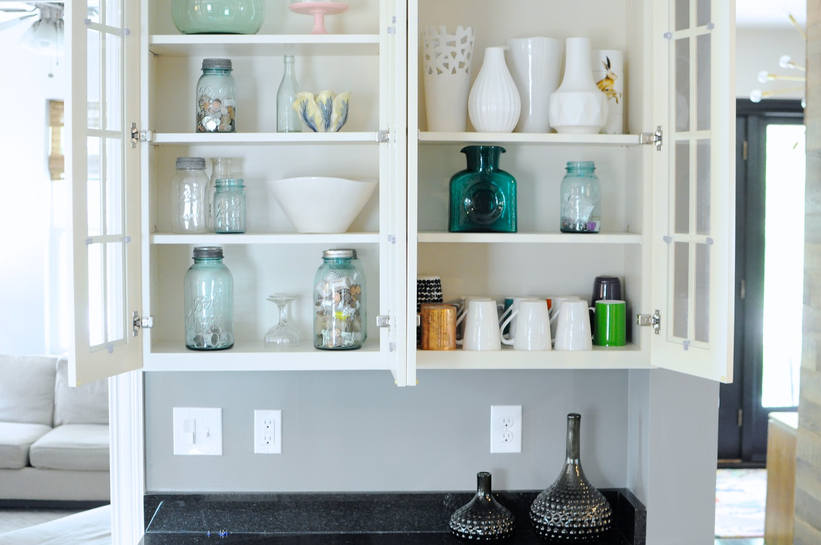 """Finding """"Treasure"""" In Our Kitchen Hutch – Go Haus Go – A DIY and ..."""