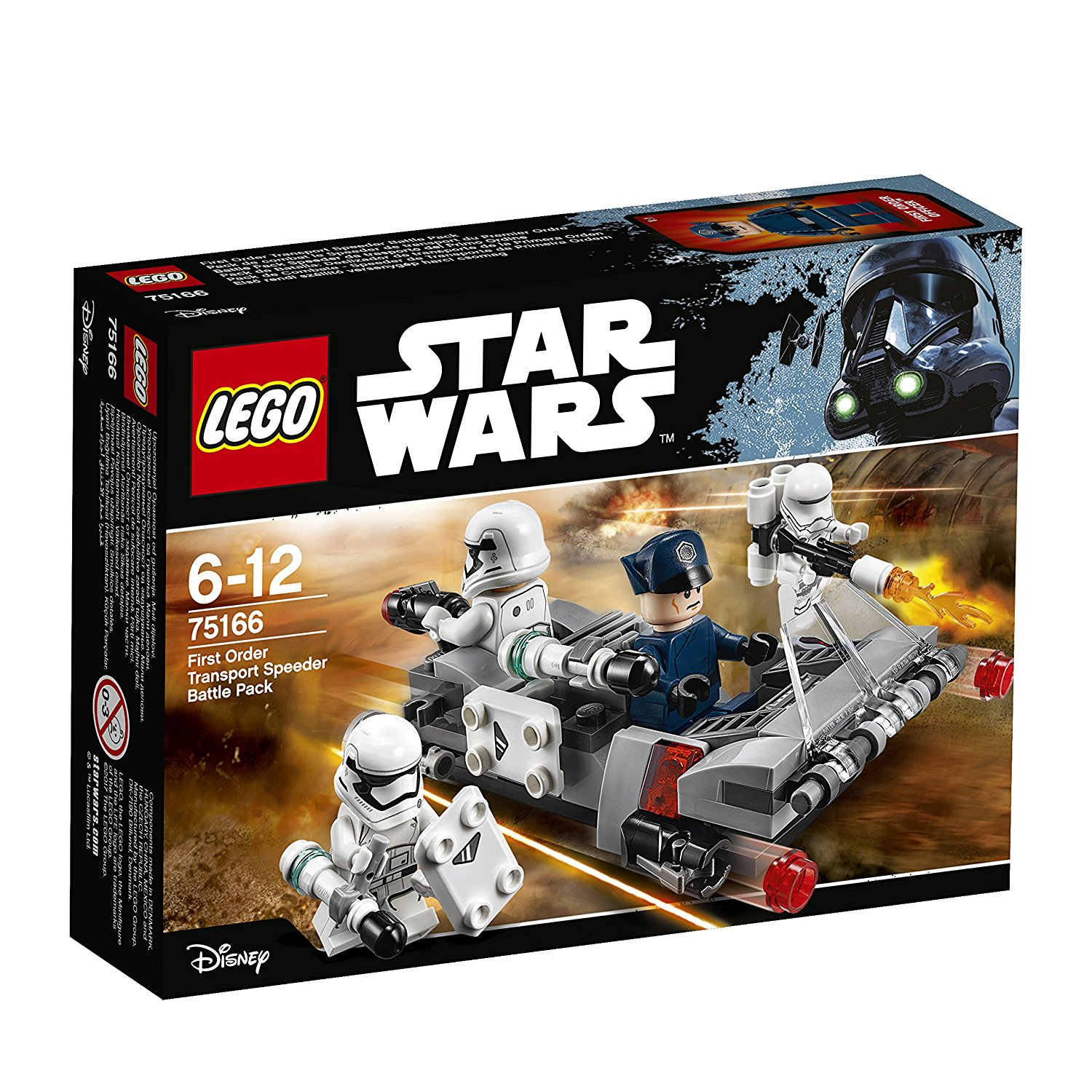 LEGO Star Wars 75166 - First Order Transport Speeder Battle Pack