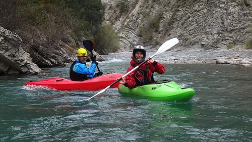 kayak verdon gorges de fontgaillarde